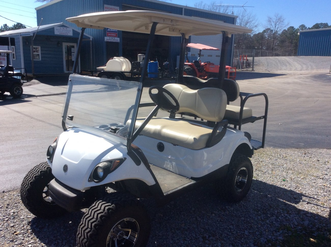 Yamaha Golf Cart V Batteries